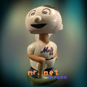 Mr. Met - A Poem