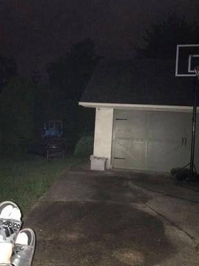 The Porch in the Rain