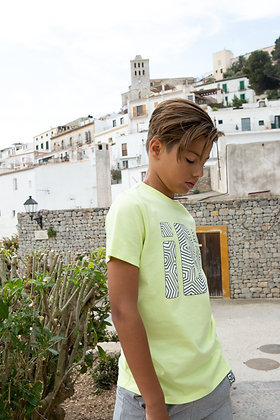 T-shirt Lime iBi Wit