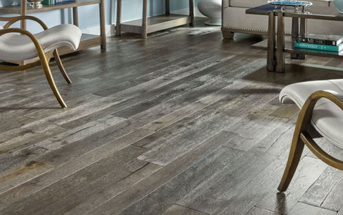 Whether you favour white oak, hickory or exotic....Wide plank, wire brushed or hand scraped...We have you covered. An extensive selection of engineered hardwood to choose from for your main floor.