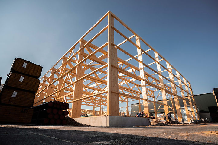 Hallenbau - Hilgerbau - Holzhallen