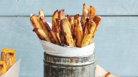 Sumac salted chips