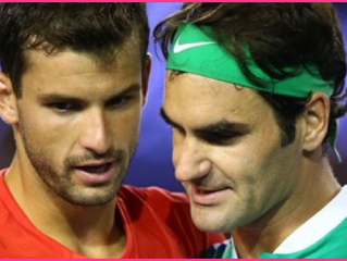 Similarities & Differences  between Federer & Dimitrov