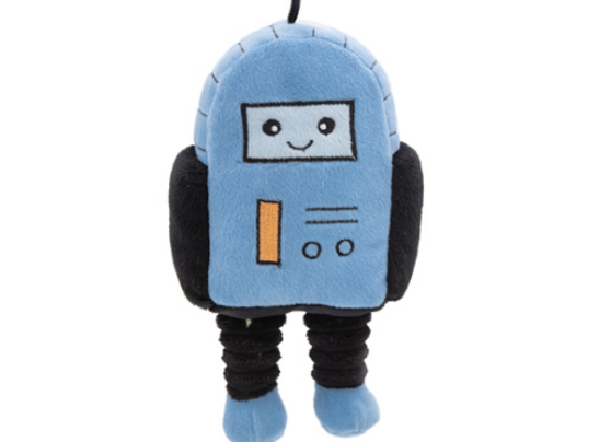 Zippy Paws Plush Storybook Space Squeaker Dog Toy - Rosco the Robot