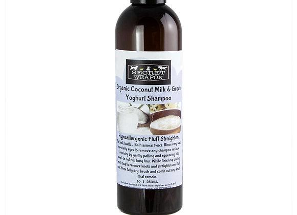 Organic Coconut Milk and Greek Yoghurt Shampoo 250ml