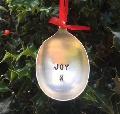 Joy Christmas Tree Bauble
