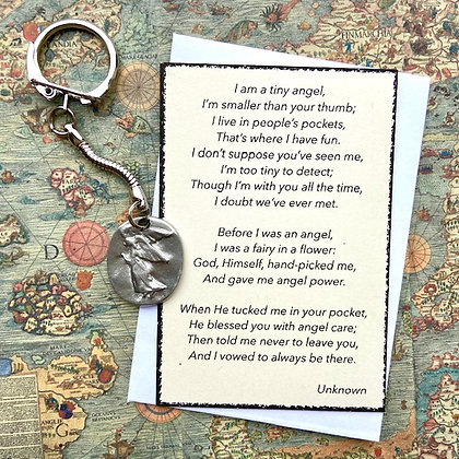 Guardian Angel Keepsake Keyring