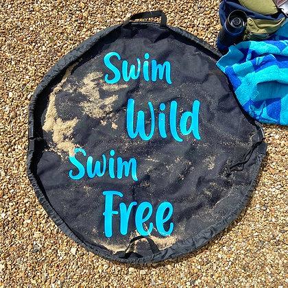 Wild Swimming Changing Mat Bag