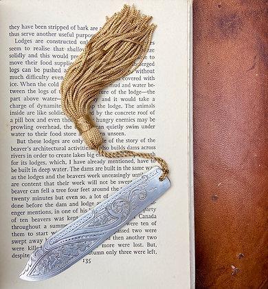 Ornate Swirls & Wave Bookmark
