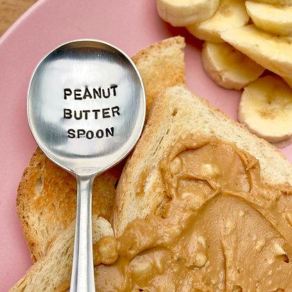 Peanut Butter Spoon