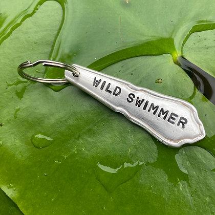 Wild Swimmer Keyring