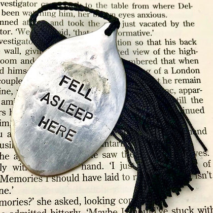 Fell Asleep Here Bookmark