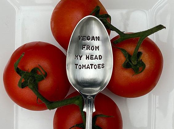 Vegan From My Head Tomatoes Spoon
