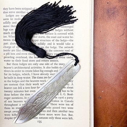 Ornate Fish Engraved Bookmark