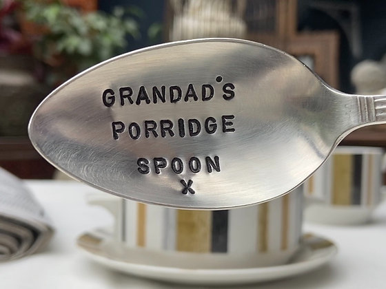 Grandad's Porridge Spoon