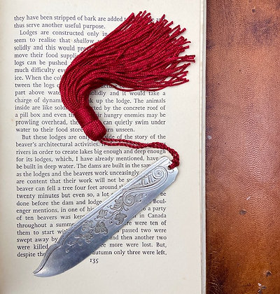 Leaves & Swirls Ornate Bookmark