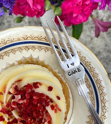 I Heart Cake Fork