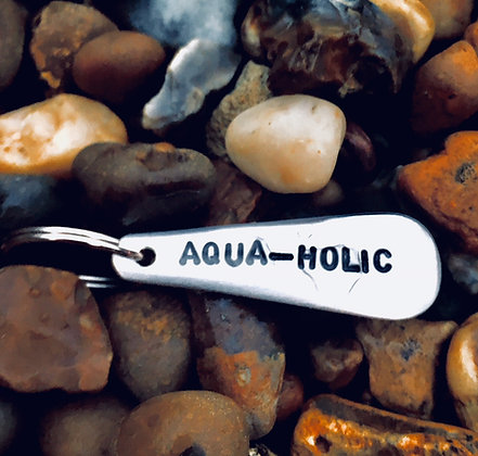 Aqua-Holic Keyring