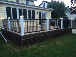 Timber tech Legacy Tigerwood Decking