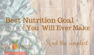 Best Nutrition Goal You Will Ever Make