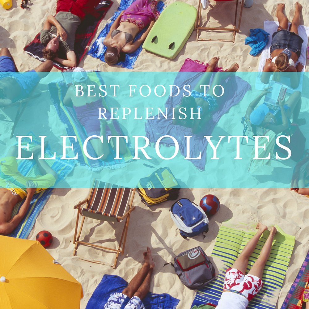 Best Foods to Replenish Electrolytes