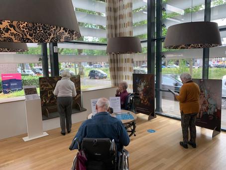 Kunst biedt afleiding voor ouderen in Brabantse woonzorglocatie
