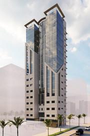 Aljabrya Clinic Tower, Kuwait City