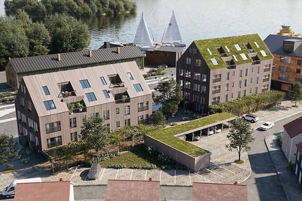 Sjöstadsorangeriet, Stockholm, Sweden