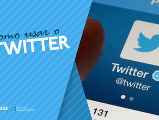 O que é o Twitter e como eu posso usá-lo?