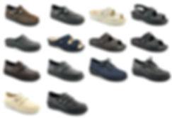 diabetická kožená obuv vyjímatelná stélka berkemann