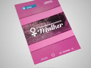 Divulgue Comunicação e Marketing na 1ª Conferência Municipal de Saúde da Mulher