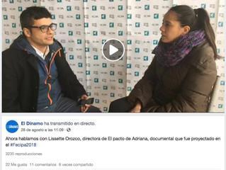 """www.eldinamo.cl / Directora de El Pacto de Adriana: """"Cada vez que Paty Maldonado hace un comentario"""