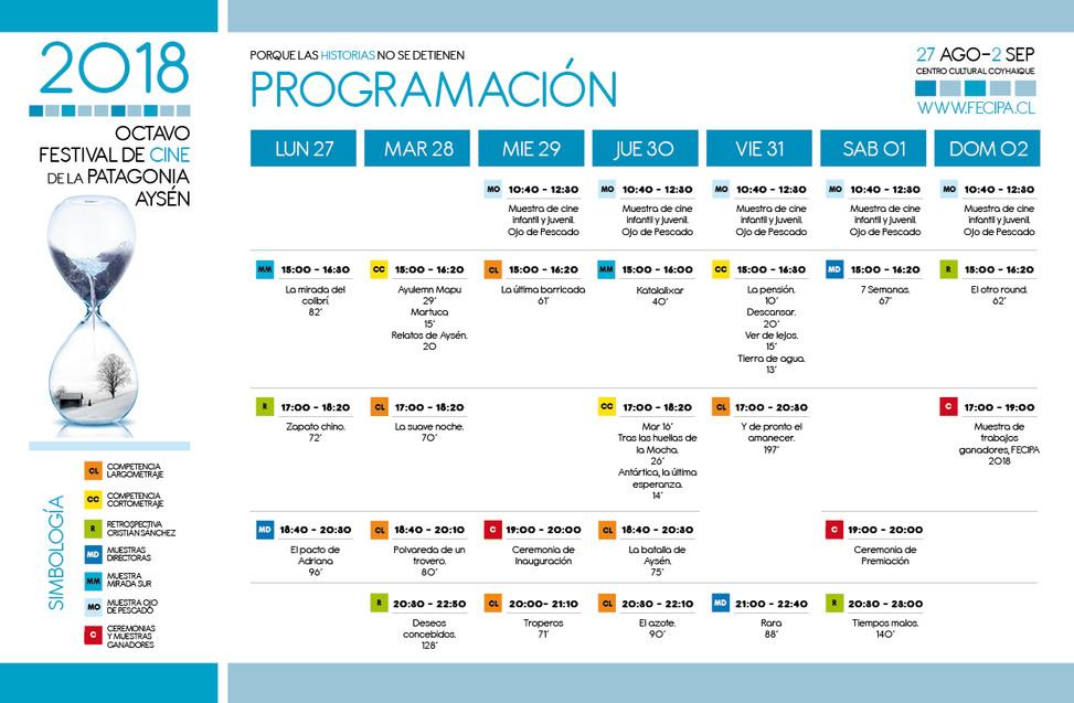 www.eldinamo.cl / Revisa la programación del Festival de Cine de la Patagonia