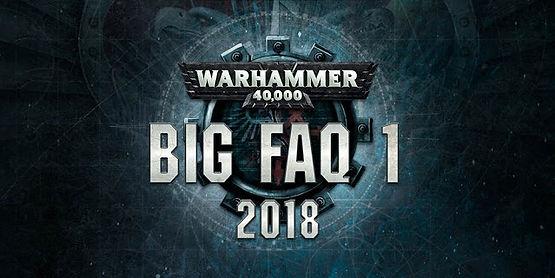 Warhammer 40k - The Big FAQ | Fishy Wargaming, is a blog dedicated