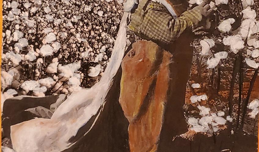 "Series: ""This is America""  Title:  Medium: Collage on Canvas Size: 8' x 10'  Cashapp:  $JohnRMiles Paypal: sotalentedmiles@gmail.com"
