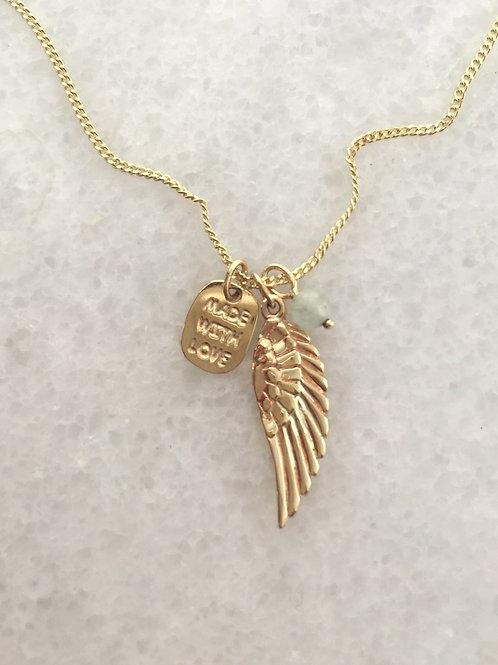 křídlo.zlato.