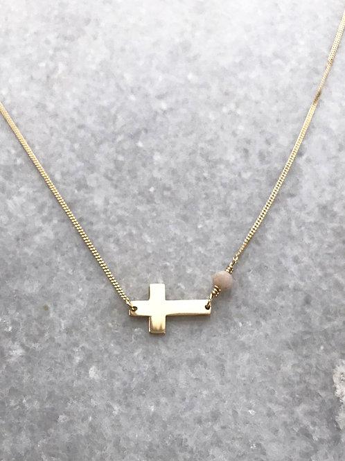 křížek. zlato.