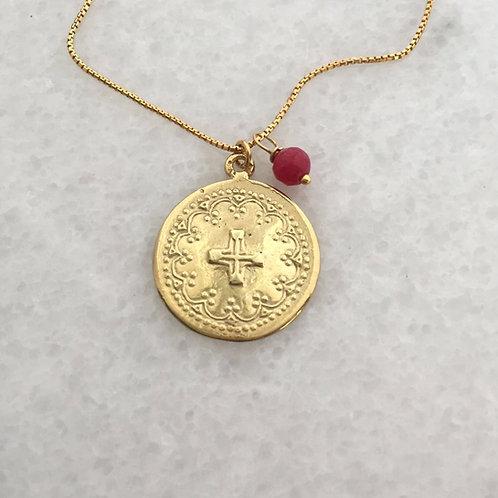 medailon.kříž.