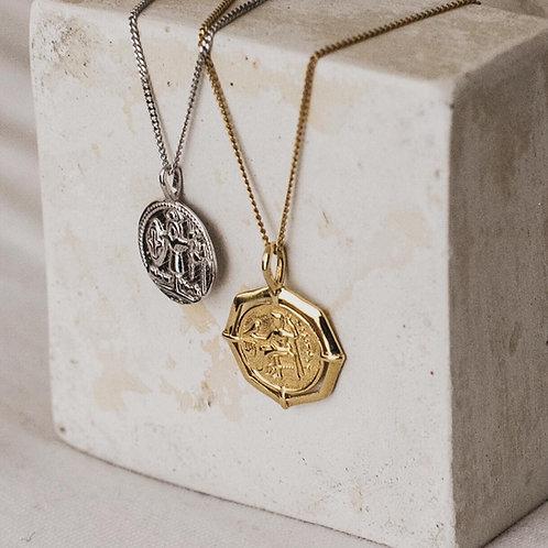 greek coin.