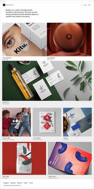 Brand Studio Website Template