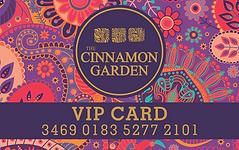 The Cinnamon Garden VIP membership, Best Indian Restaurant, Takeaway, Delivery in Ashbourne, Co. Meath, Dublin, Ireland.