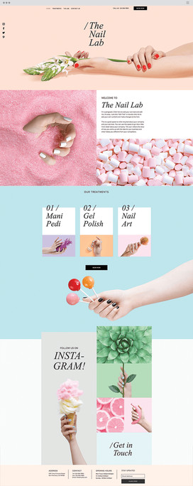The Nail Lab Template