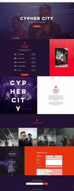 Concert Venue Website Template