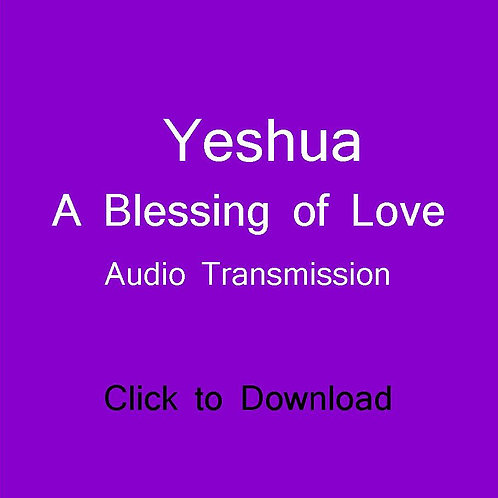YESHUA- A Blessing of Love