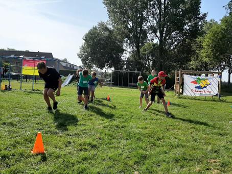 VAR-NIEUWS: IJsclub Breukelen geeft schaatstrainingen in de zon tijdens Scouting Spel3daagse