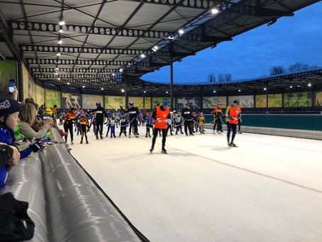 Klaar voor de start...AF! Diploma schaatsen 2020