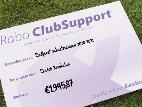 Yeah! Iedereen die op onze ijsclub Breukelen heeft gestemd, ontzettend bedankt!