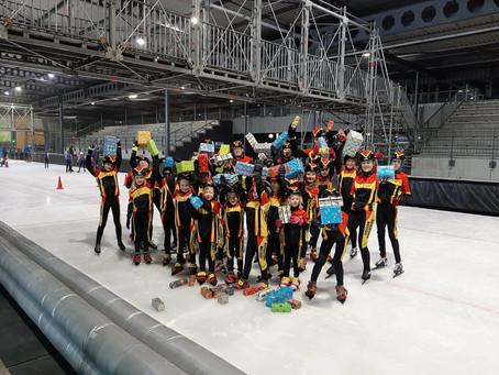 Sinterklaas op de ijsbaan!