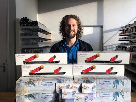 Bedankt sponsor De Lange Doe Het Zelf Zaak Breukelen!