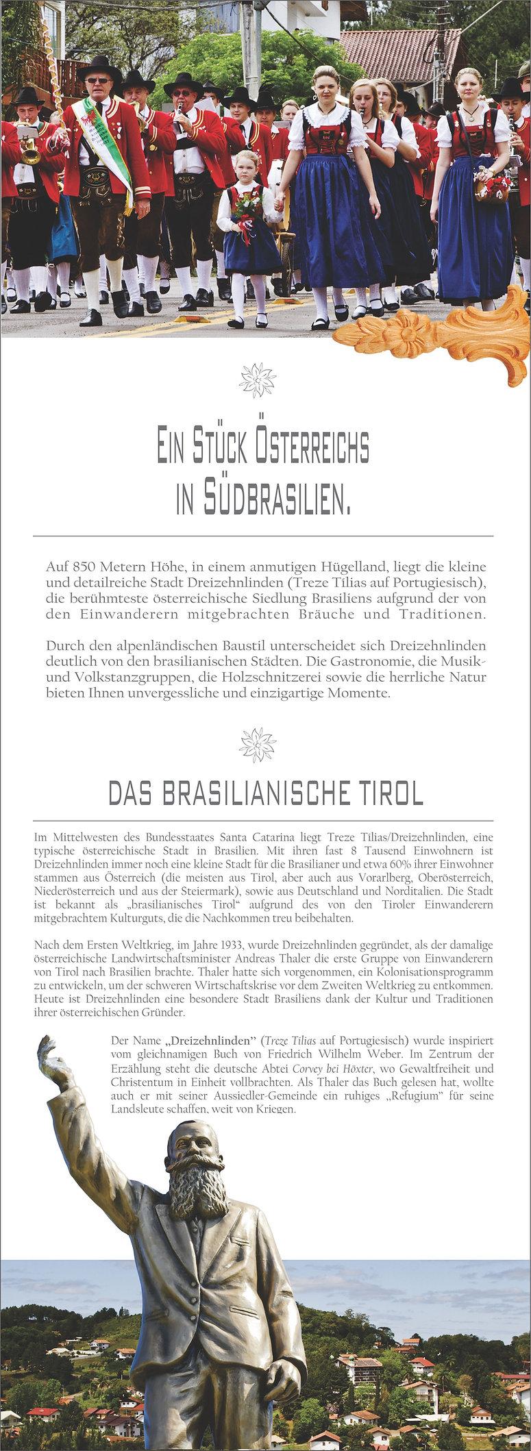 Dreizehnlinden, brasilien, treze tilias, mk, brasilianische tirol